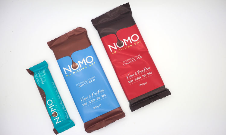 NOMO chocolate for allergy sufferers