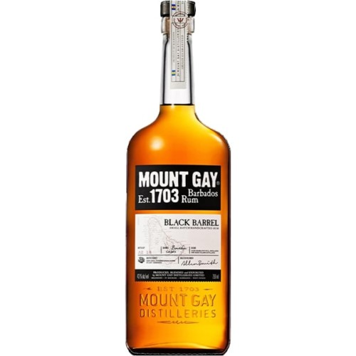 Mount Gay Barbados Rum 700ml - Small batch handcrafted rum