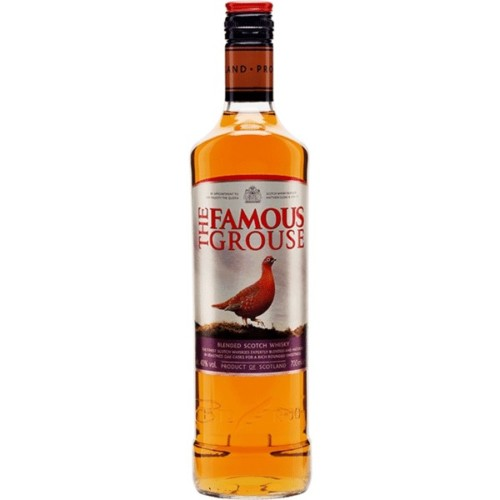 Famous Grouse - First produced in 1860 (when it was just 'The Grouse'), The Famous Grouse has been the No. 1 whisky in Scotland since 1980. Famous Grouse, a rich, sweet, well-rounded whisky.