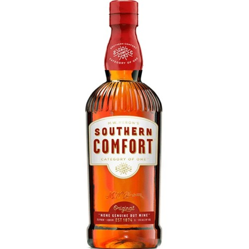 Southern Comfort -Southern Comfort was created in 1874 by a bartender who believed whiskey should be enjoyed, not endured. He took harsh whiskeys of the time and mixed them with his own blend of fruits and spices, creating a uniquely smooth and delicious drink unlike any other.