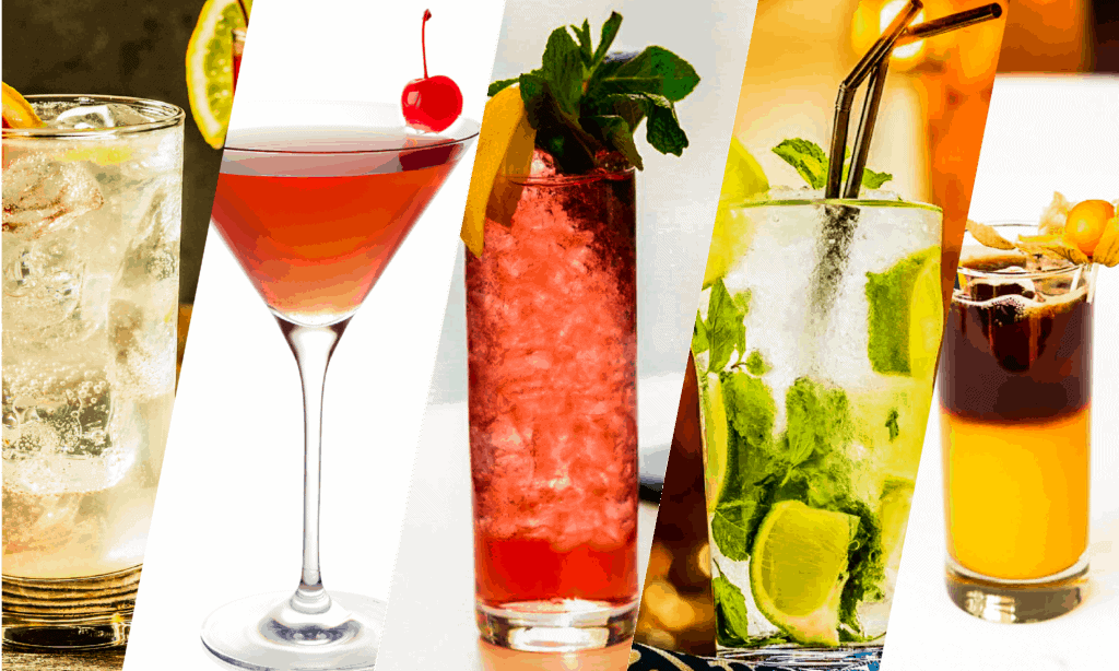 Must-try gin cocktails served cold.