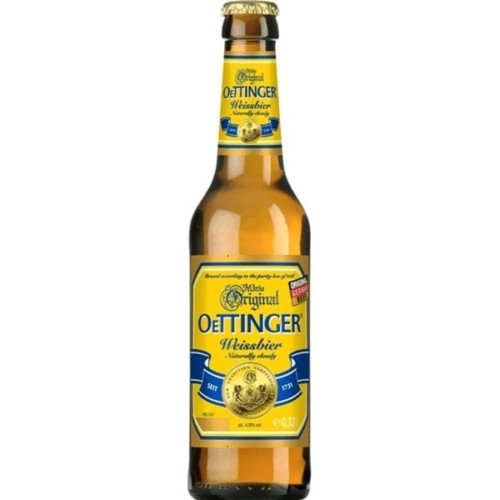 Oettinger Weissbier 330ml Bottle