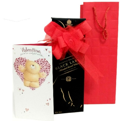 Black Label Small Valentines Gift Package Official