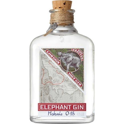Elephant Gin 750ml - Handcrafted London Dry Gin