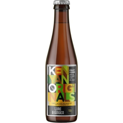 KO Cider Lime & Ginger 330ml