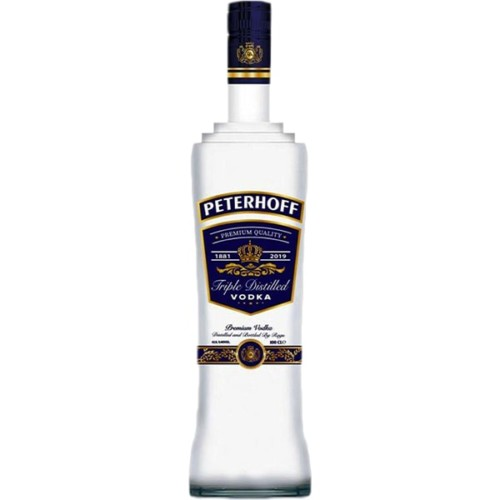 Peterhoff Blue Vodka 700ml