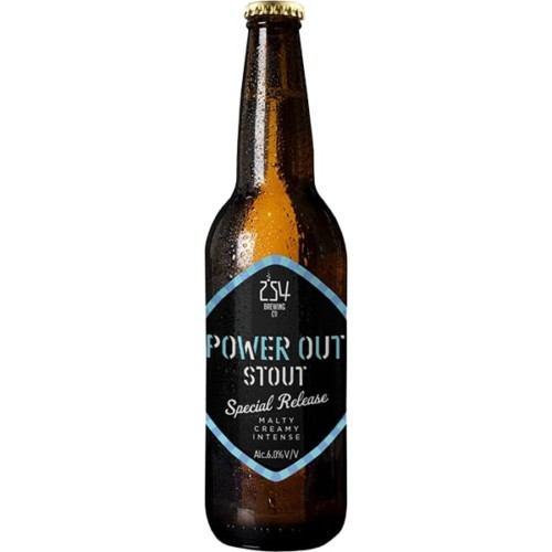 Power Out Stout 330ml - Malty, Creamy, Intense Craft Beer.
