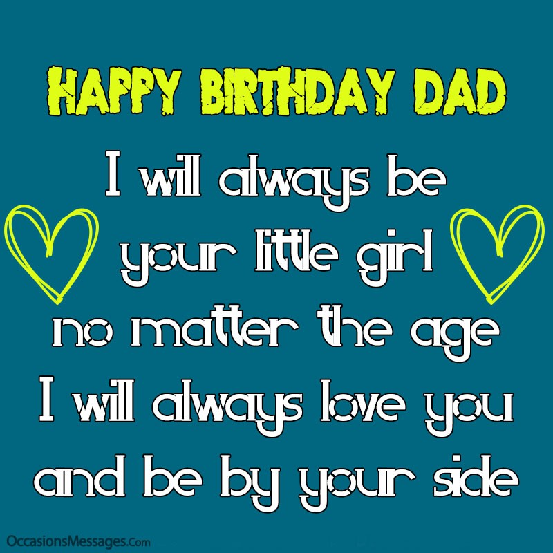 Best 200 Happy Birthday Wishes For Father From Daughter
