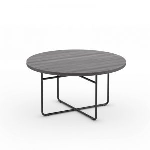 Rod Base Round Coffee Table