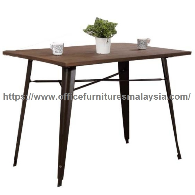 Industrial Style Rectangular Dining Table Modern Dining Table