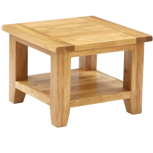 Vancouver Oak Square Coffee Table Only Oak Furniture Sale Now On
