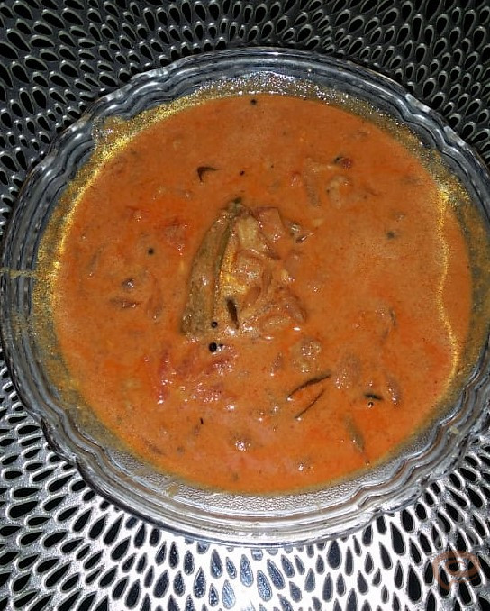 Chemmeen Thenga Paal Curry | Kerala Shrimp Curry in Coconut Milk