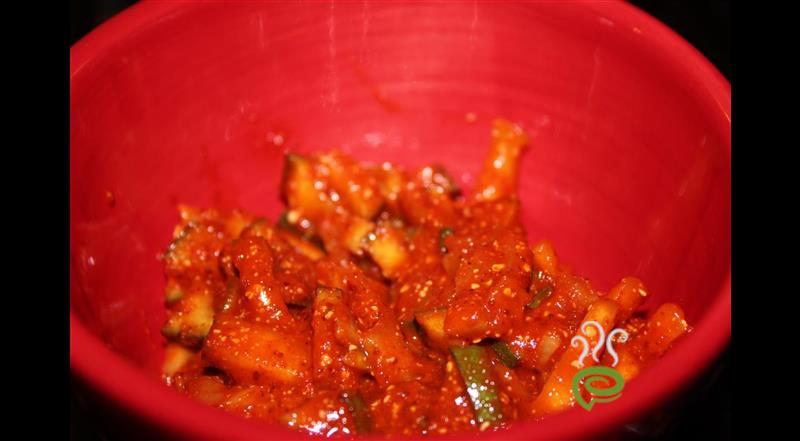 Spicy And Simple Mango Pickle – pachakam.com