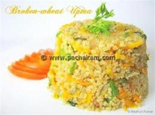 Broken Wheat Upma - Diabetes Friendly – pachakam.com