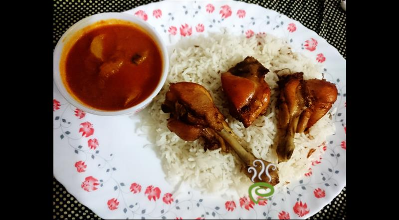 Combo Meal-Ghee Rice-Chicken Gravy-Fried Chicken – pachakam.com