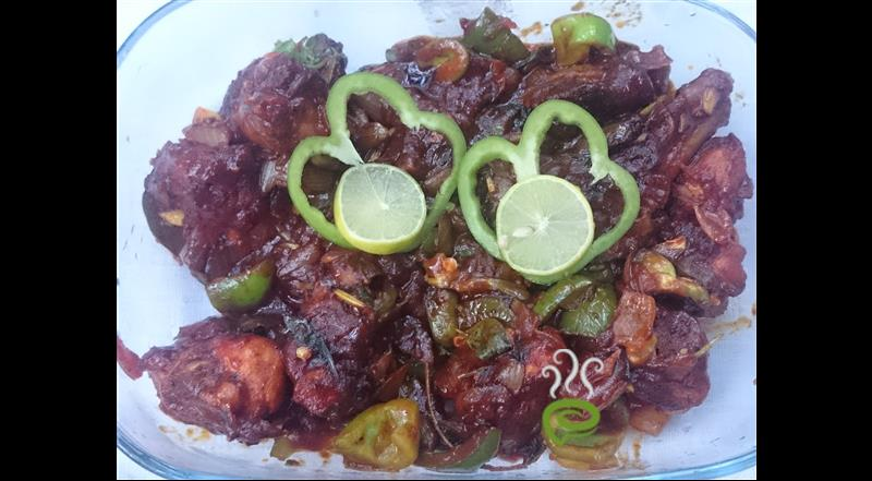 Easy Fried Chicken Curry With Tomato Sauce – pachakam.com