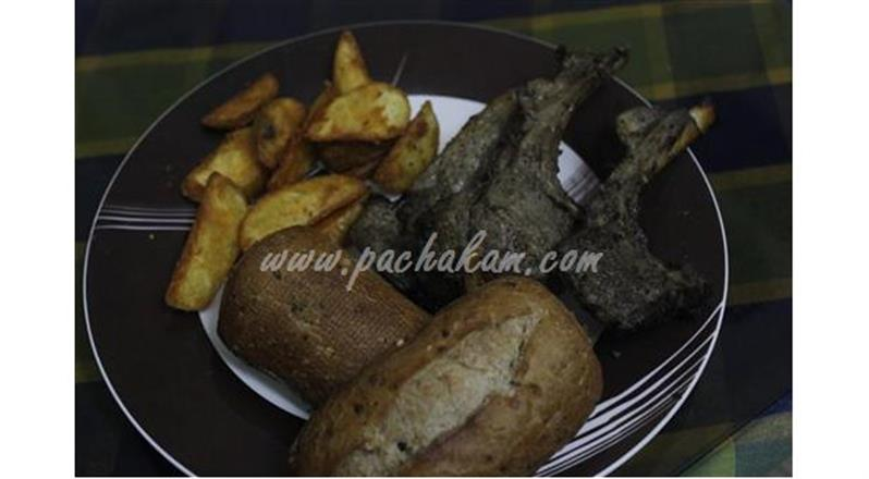Mutton Ribs Pan Grilled – pachakam.com