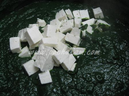 Palak Paneer (Spinach-Cottage Cheese) (Step By Step Photos) – pachakam.com
