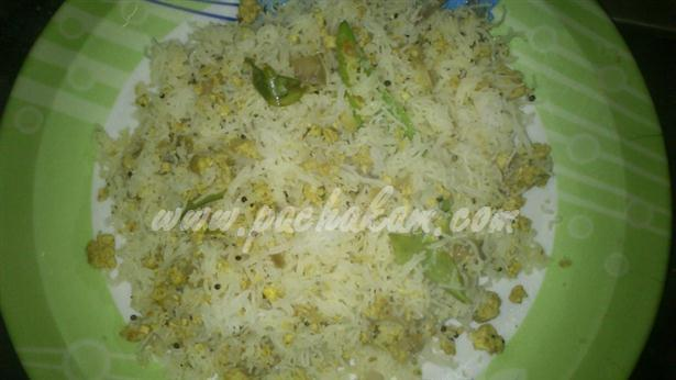 Idiyappam Egg Upma (Step By Step Photos) – pachakam.com