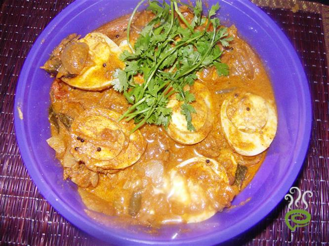 Restaurant Style Potato Egg Curry – pachakam.com