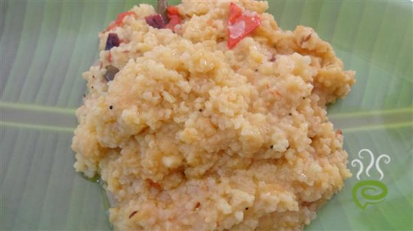 Millet Dal Rice – pachakam.com