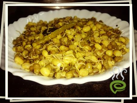 Moong Sprouts Stir Fry – pachakam.com