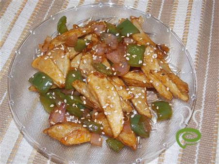 Honey Chilli Potato – pachakam.com