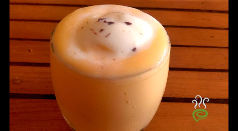 Papaya Milkshake-With Vanilla Ice Cream – pachakam.com