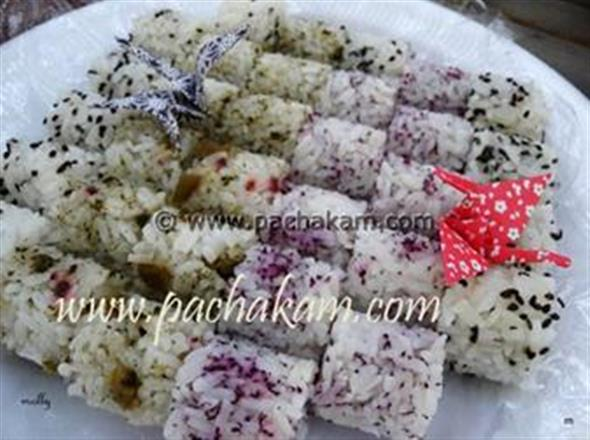 Rice Balls With Furikake – pachakam.com