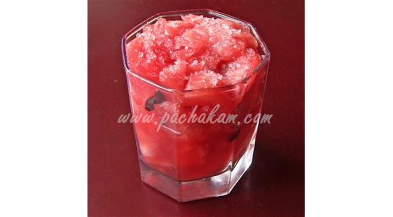 Water Melon And Ginger Juice