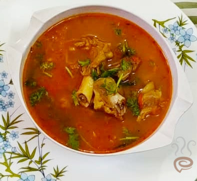 Mutton Rasam | Bone Rasam
