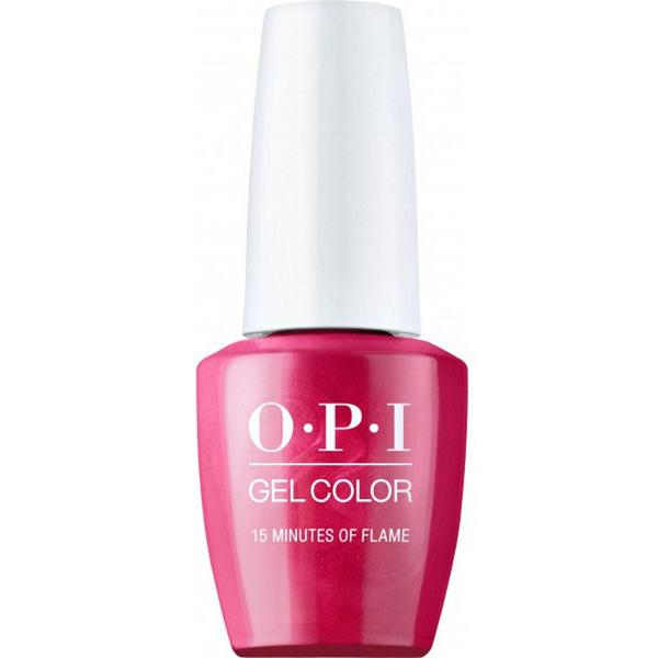 Lac de Unghii Semipermanent - OPI Gel Color Hollywood 15 Minutes Of Flame
