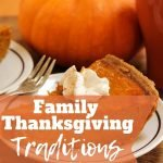 Thanksgiving traditions pin