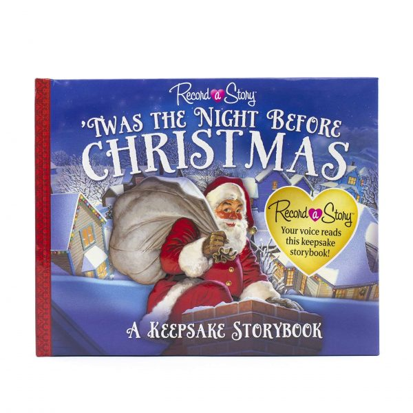 Night Before Christmas recordable book gift for the new Grandma