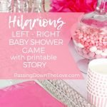 Left Right Baby Shower Games Story