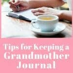 How to Start a Grandmother Journal