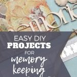 diy projects for memory keeping