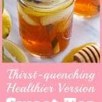 healthy sweet tea