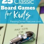 classic old-fashioned board games for kids