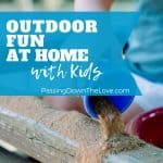 Outdoor fun with kids