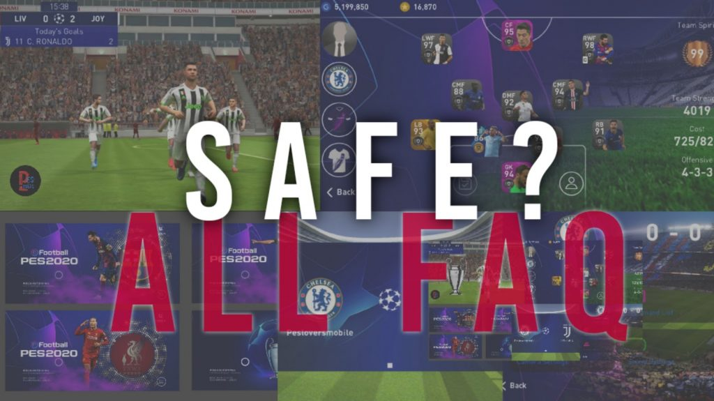 Is pes mobile patch safe?