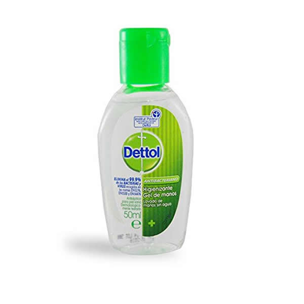 Dettol Gel De Mains Desinfectant Antibacterien 50ml Pharmacyclub