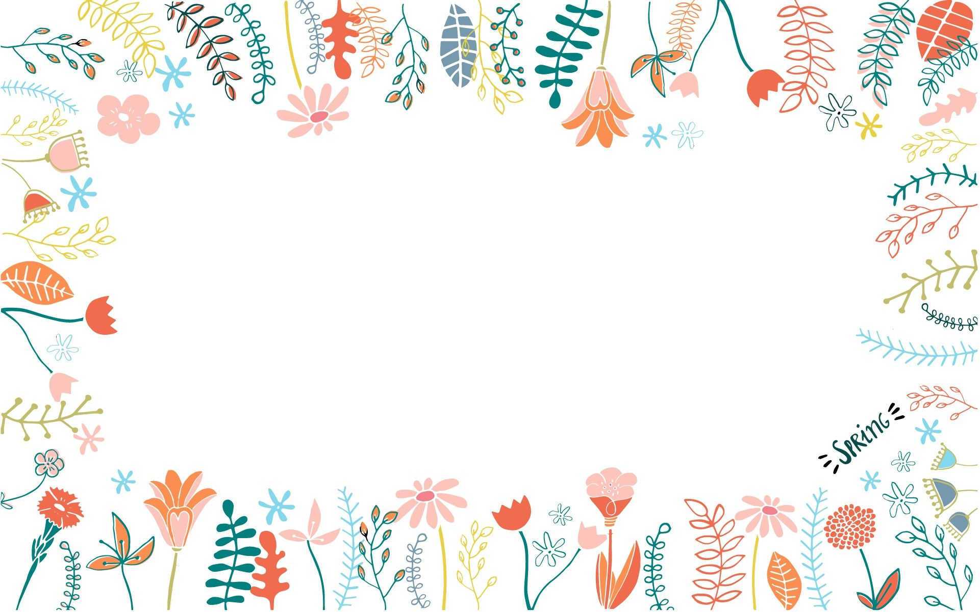 White Floral Backgrounds HD