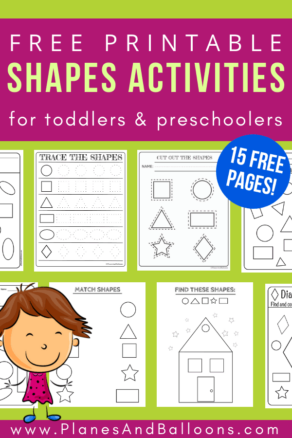 Kindergarten Free Printable Shapes And Colors