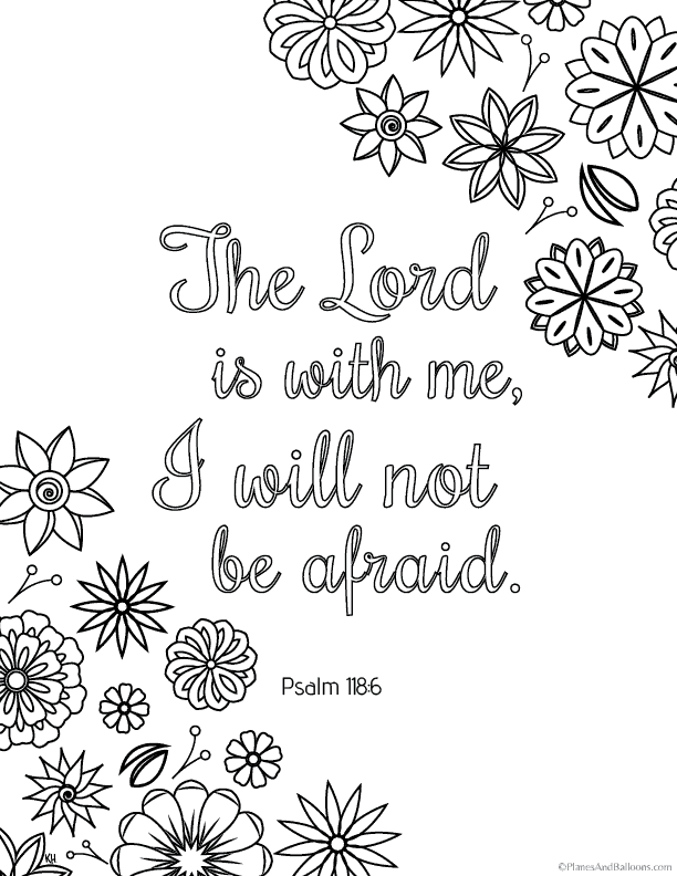 - Bible Verse Coloring Pages That Give You Strength To Face Giants Of Your  Life
