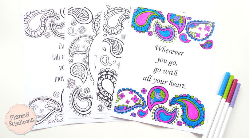 - Positive Quotes Coloring Pages To Keep The Good Vibes Flowing