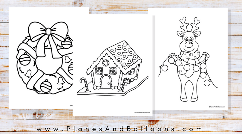 - Christmas Coloring Book For Toddlers And Preschoolers