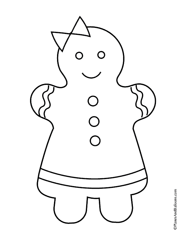 - Gingerbread House Coloring Pages (Free Printable PDF)
