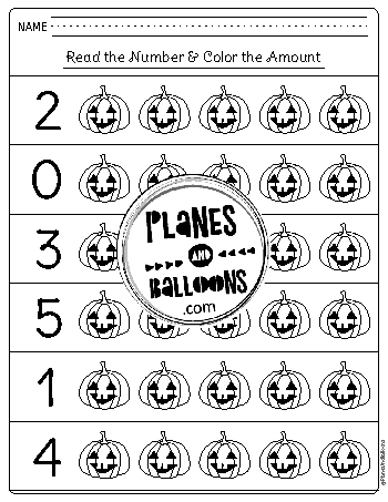 Kindergarten Halloween Worksheets Free Printable Pdf