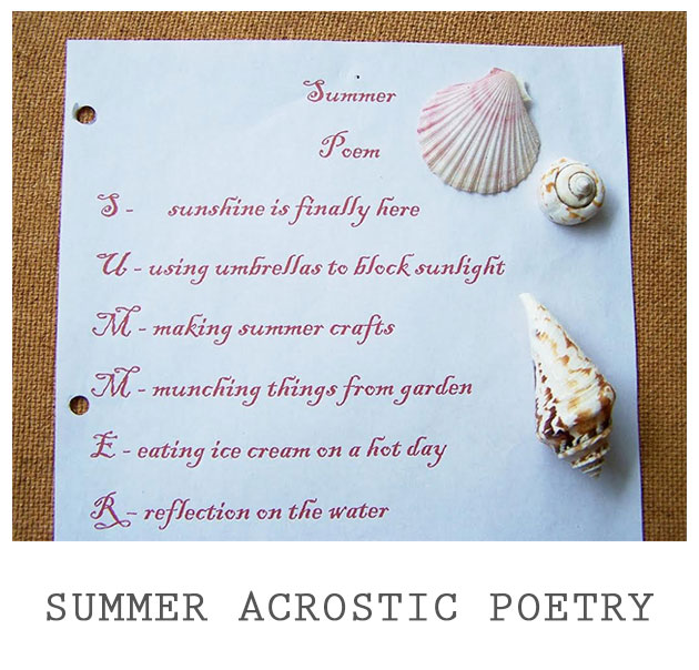 Examples Of Acrostic Poems 7
